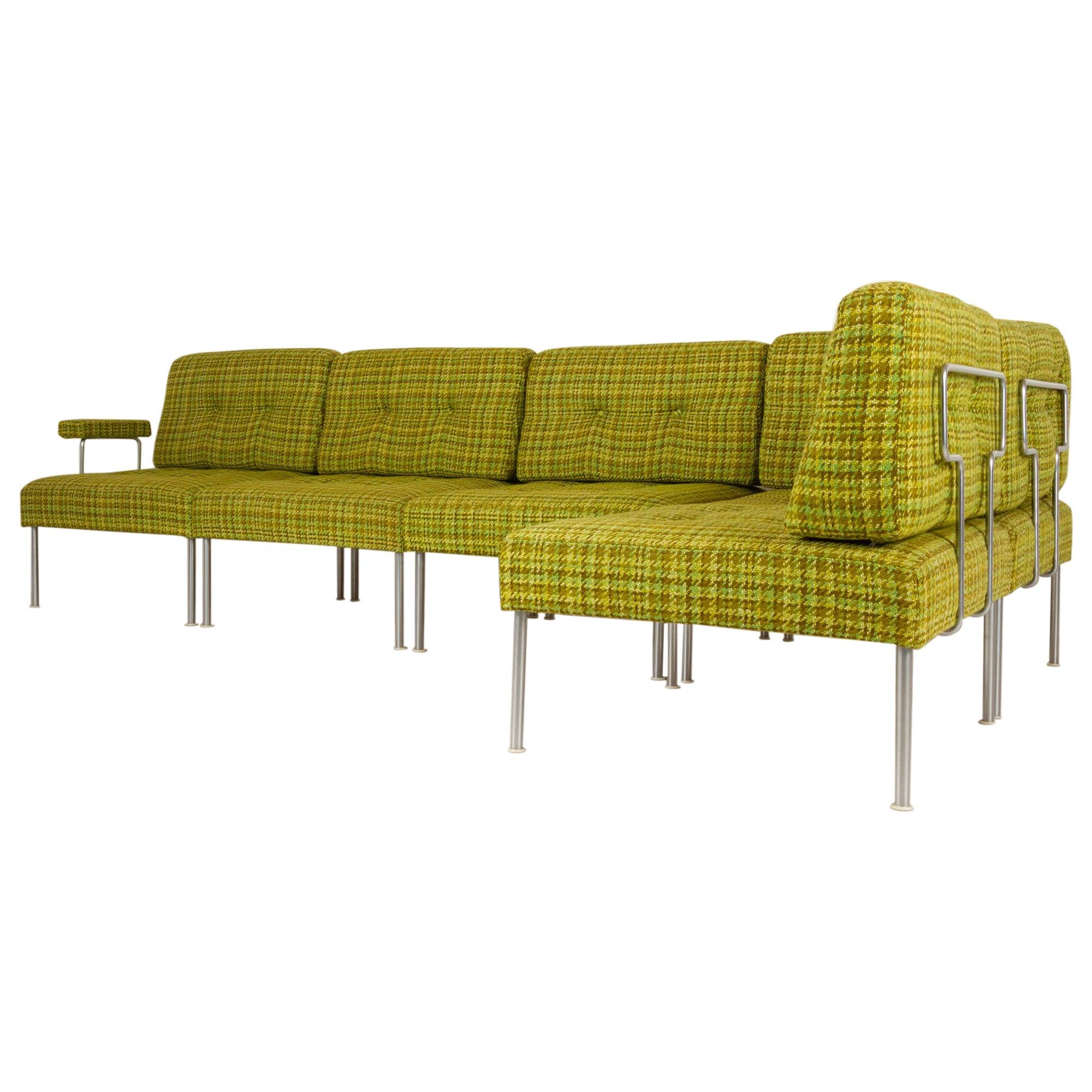 Vintage Danish Modular Revolte Sofa by Poul Cadovius for Cado, 1970s