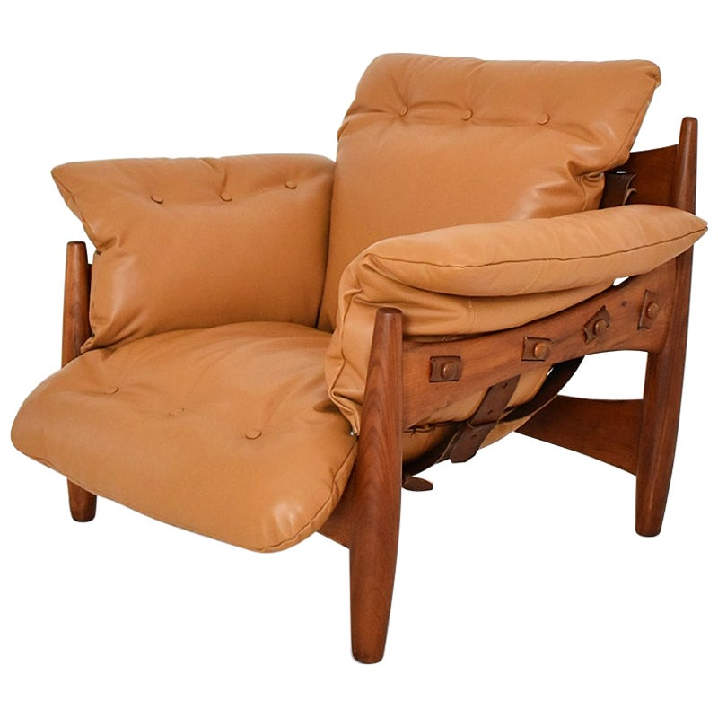 Vintage Sheriff / Mole Armchair by Sergio Rodrigues for ISA Bergamo