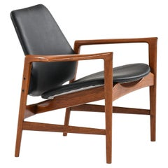 Ib Kofod-Larsen Easy Chair Model Holte Produced by OPE in Sweden