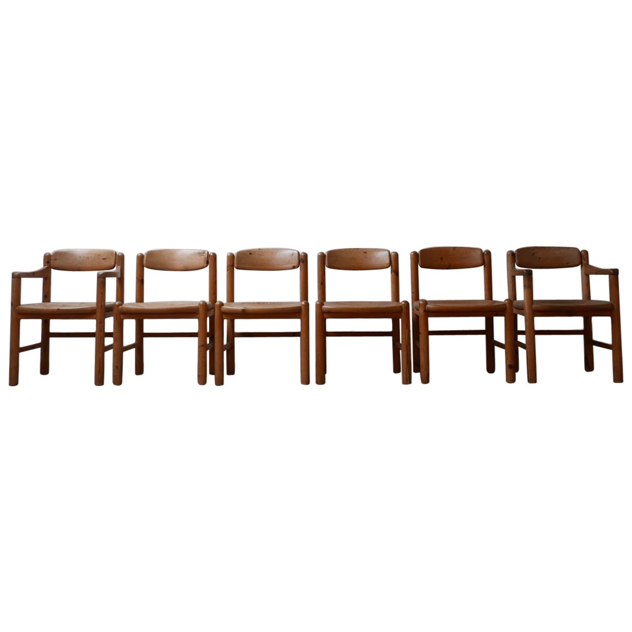 Set of Six Midcentury Dining Chairs by Rainer Daumiller