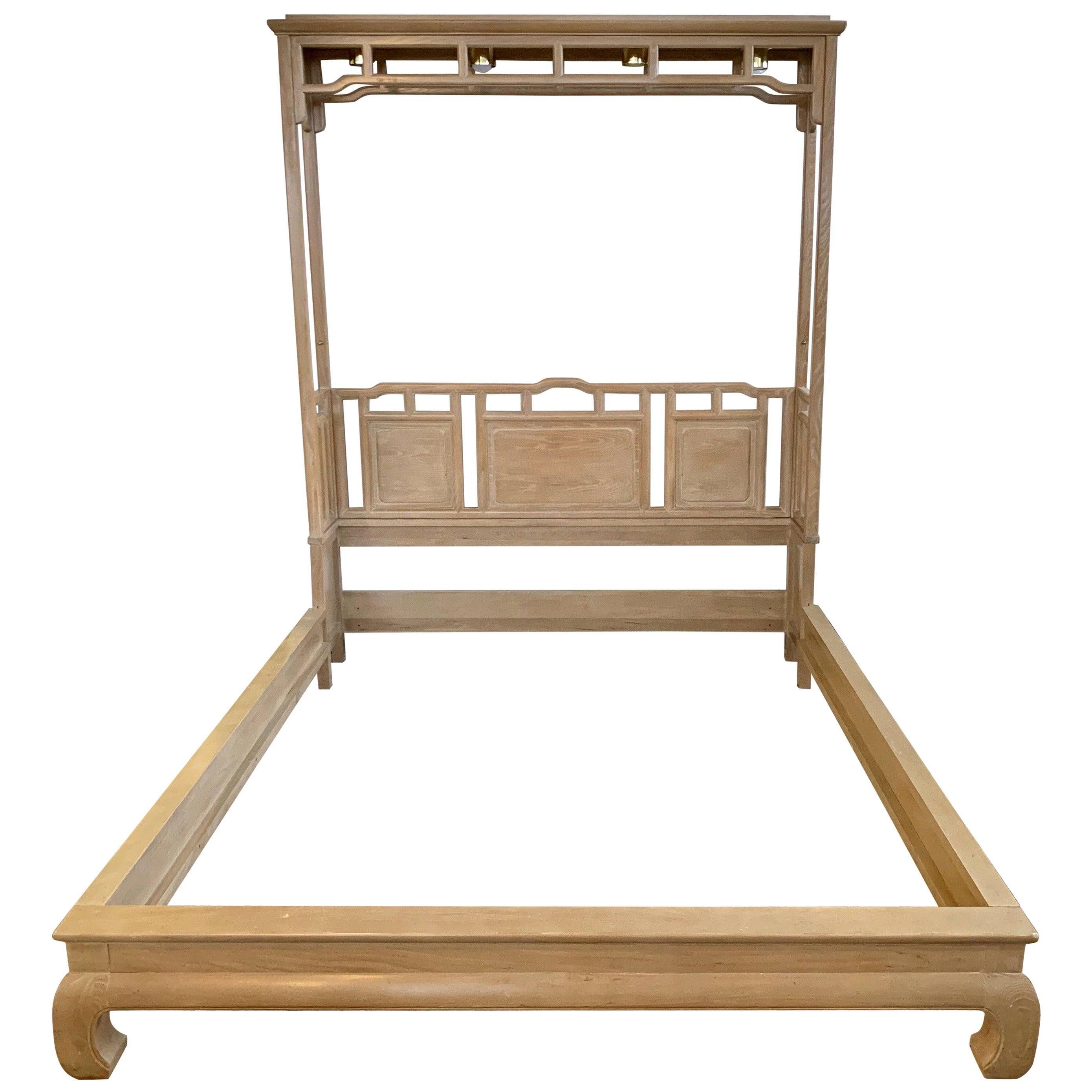 Century Furniture Company Ray Sabota Designed Illuminated Alcove Queen Size Bed
