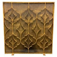 Wonderful French Art Deco Fire Screen
