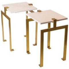 Modern Gold Side Tables