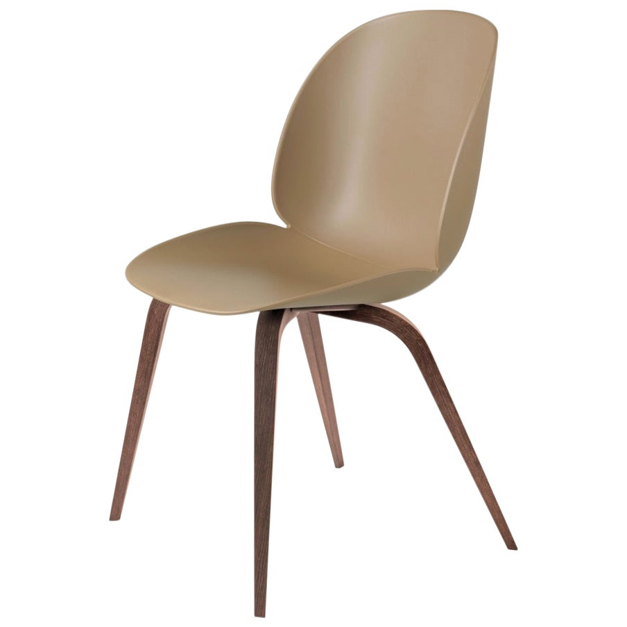 GamFratesi 'Beetle' Dining Chair with Walnut Conic Base