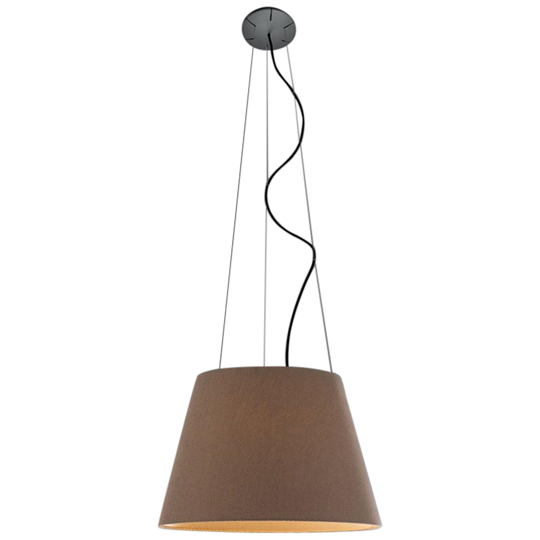 Artemide Tolomeo Mega Outdoor Suspension Lamp in Grey by De Lucchi, Fassina