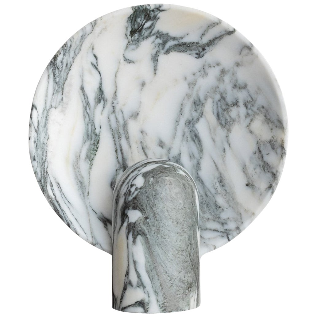 Arabescato Marble Lamp by Henry Wilson