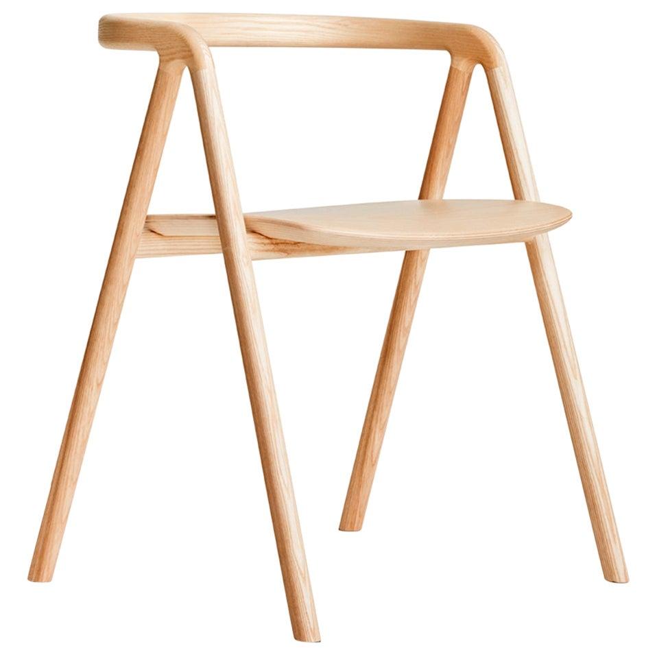 Laakso, Lightweight Modern Scandinavian Dining Chair in Ash