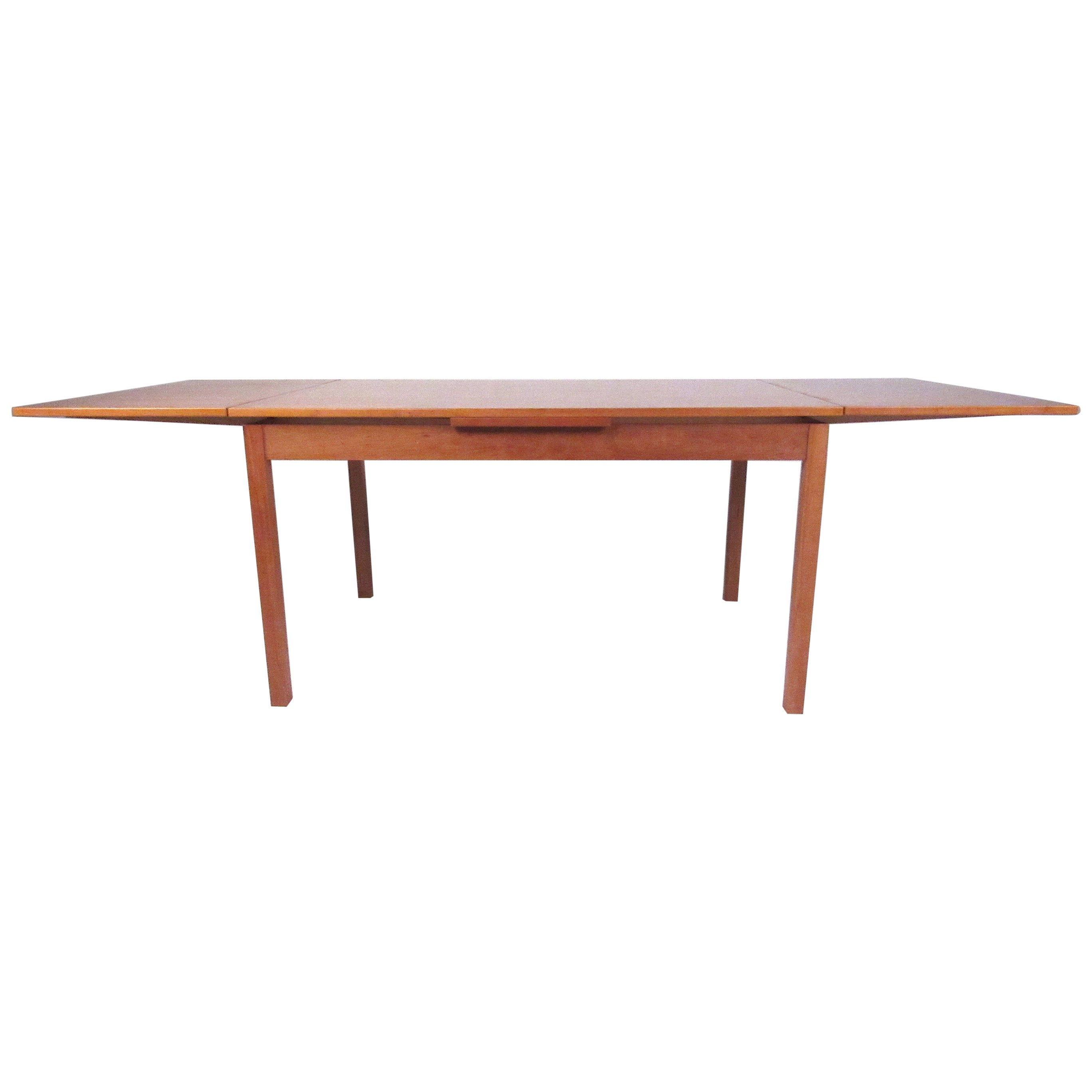 Danish Modern Draw-Leaf Dining Table by Vejle Stole og Møbelfabrik