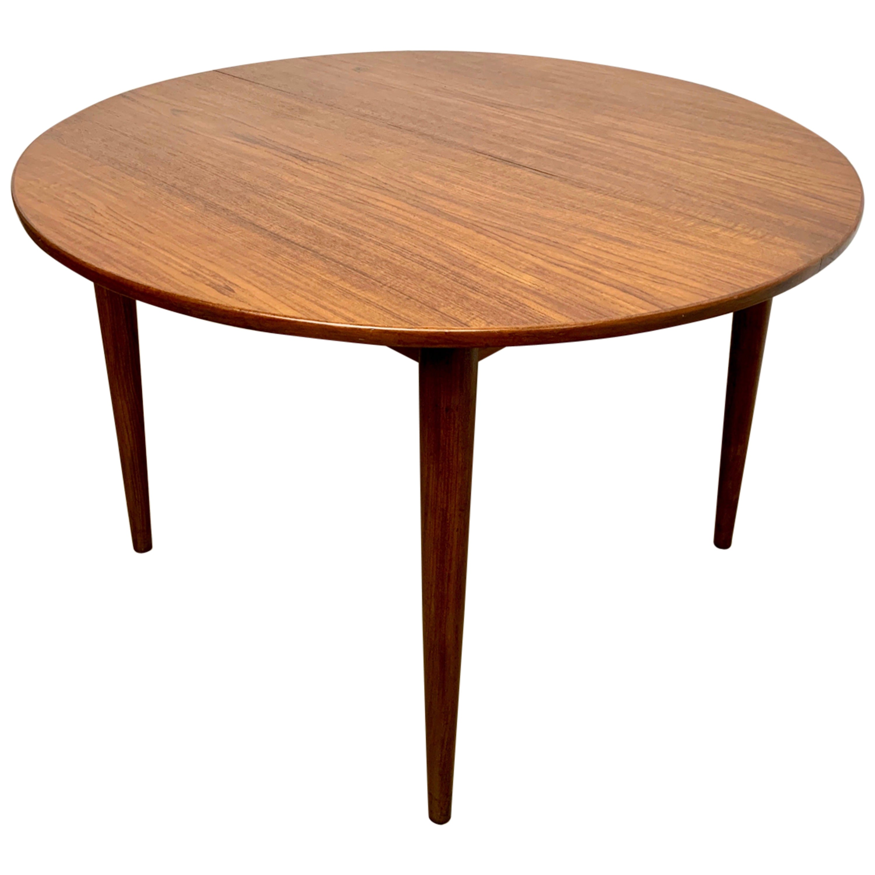 Danish Modern Teak Dining Table by Gudme Mobelfabrik