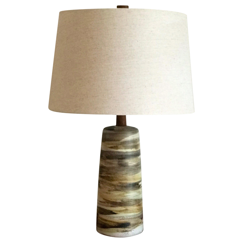 Jane and Gordon Martz Ceramic Table Lamp