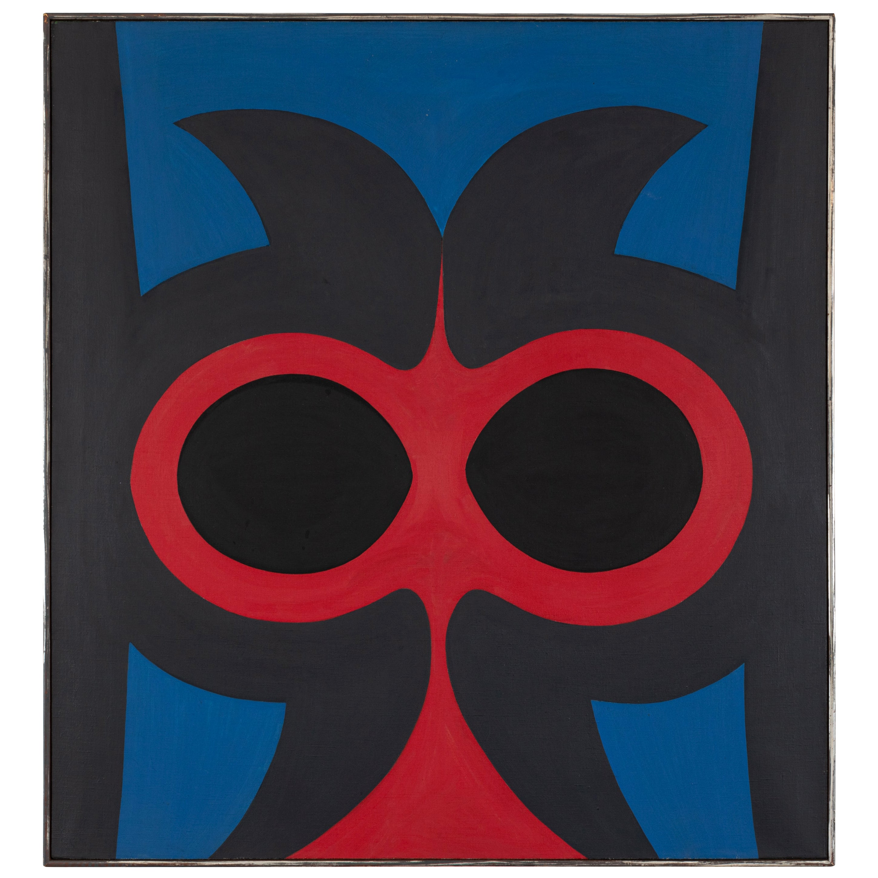 "Robert Indiana ""Untitled"" Oil on Canvas, USA 1959"