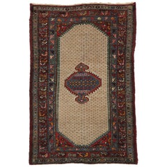 Antique Persian Hamadan Rug with Arts & Crafts Style