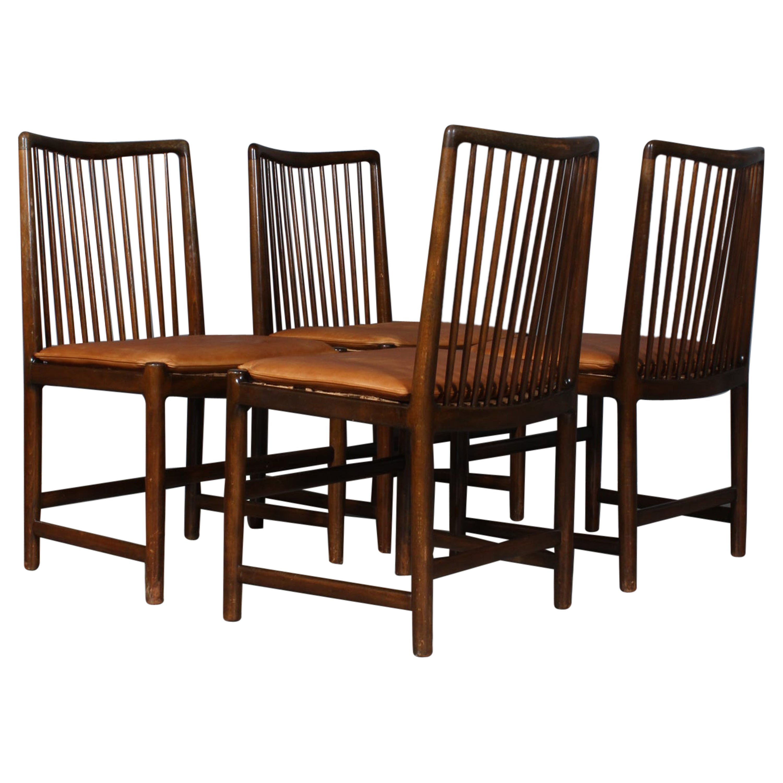 Hans J. Wegner Four Chairs