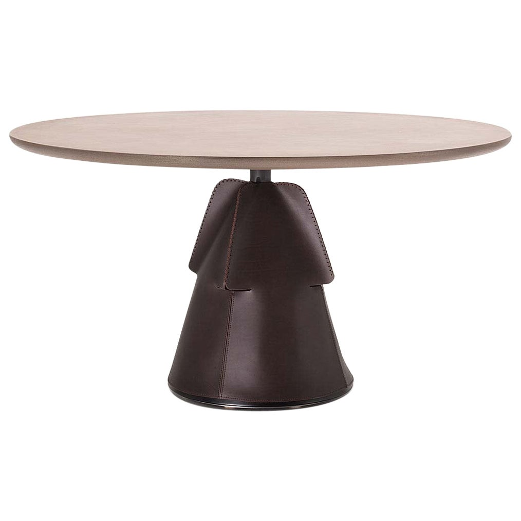 De Sede DS 615/93A Large Dining Table in Metal Brass Top by Mario Ferrarini