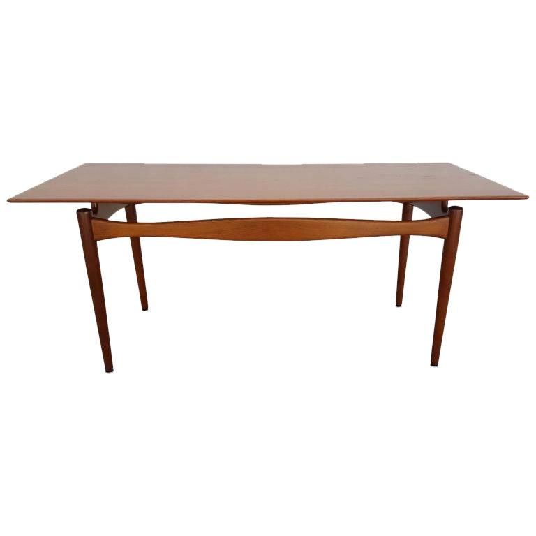 Finn Juhl Attributed Teak Coffee Table