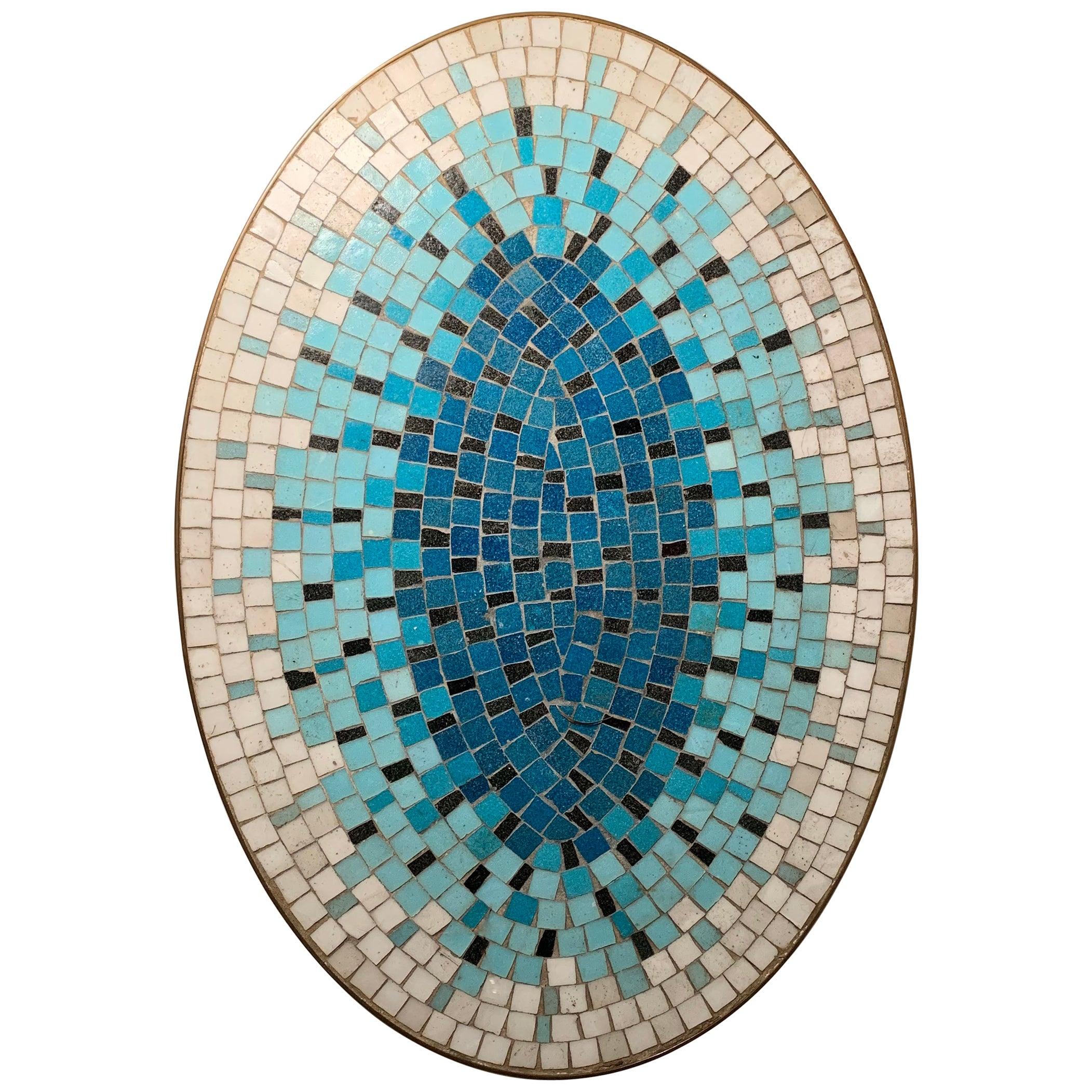 Vintage Petite Mosaic Tile Coffee Table