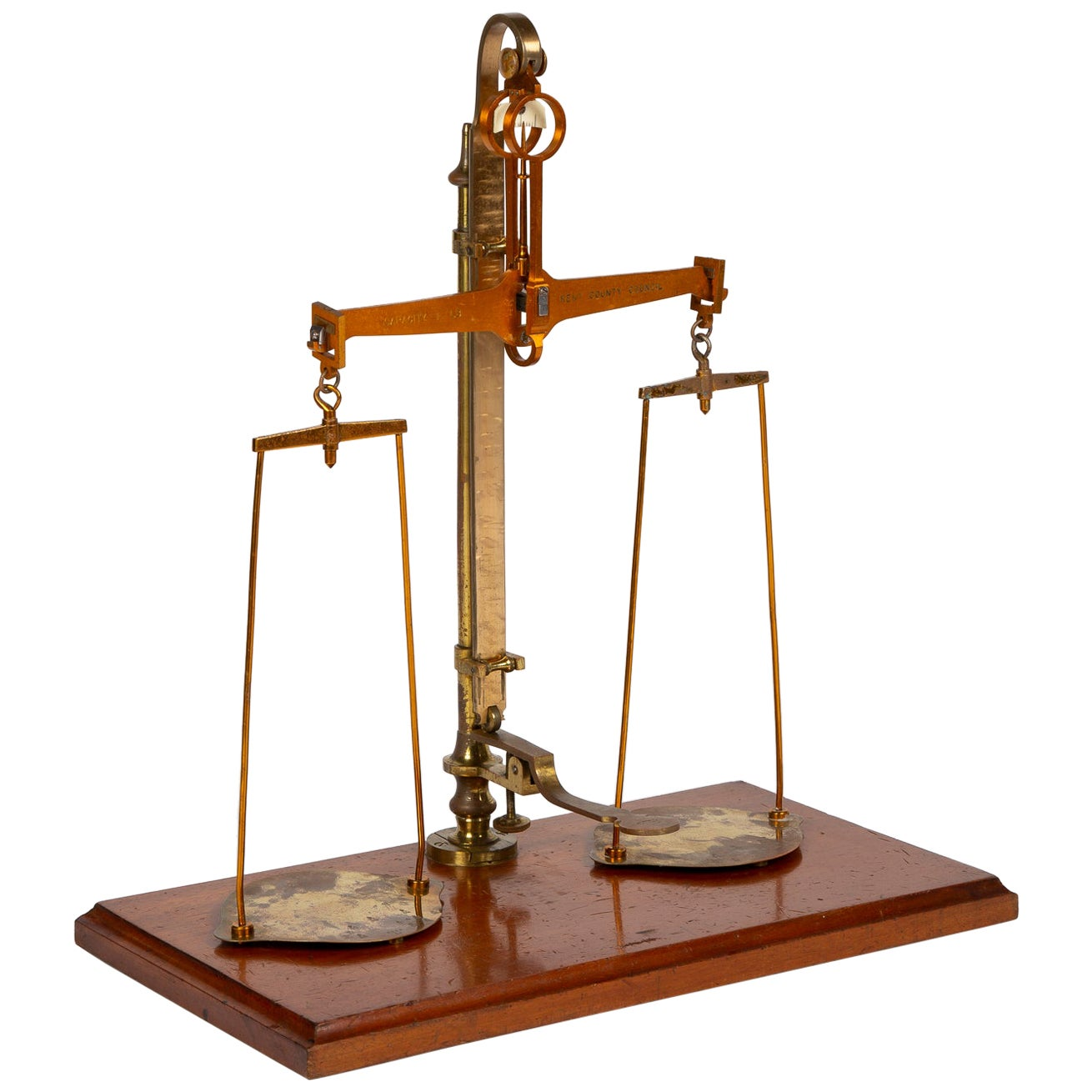 Scales Made for the County of Kent by Avery Dated 1898
