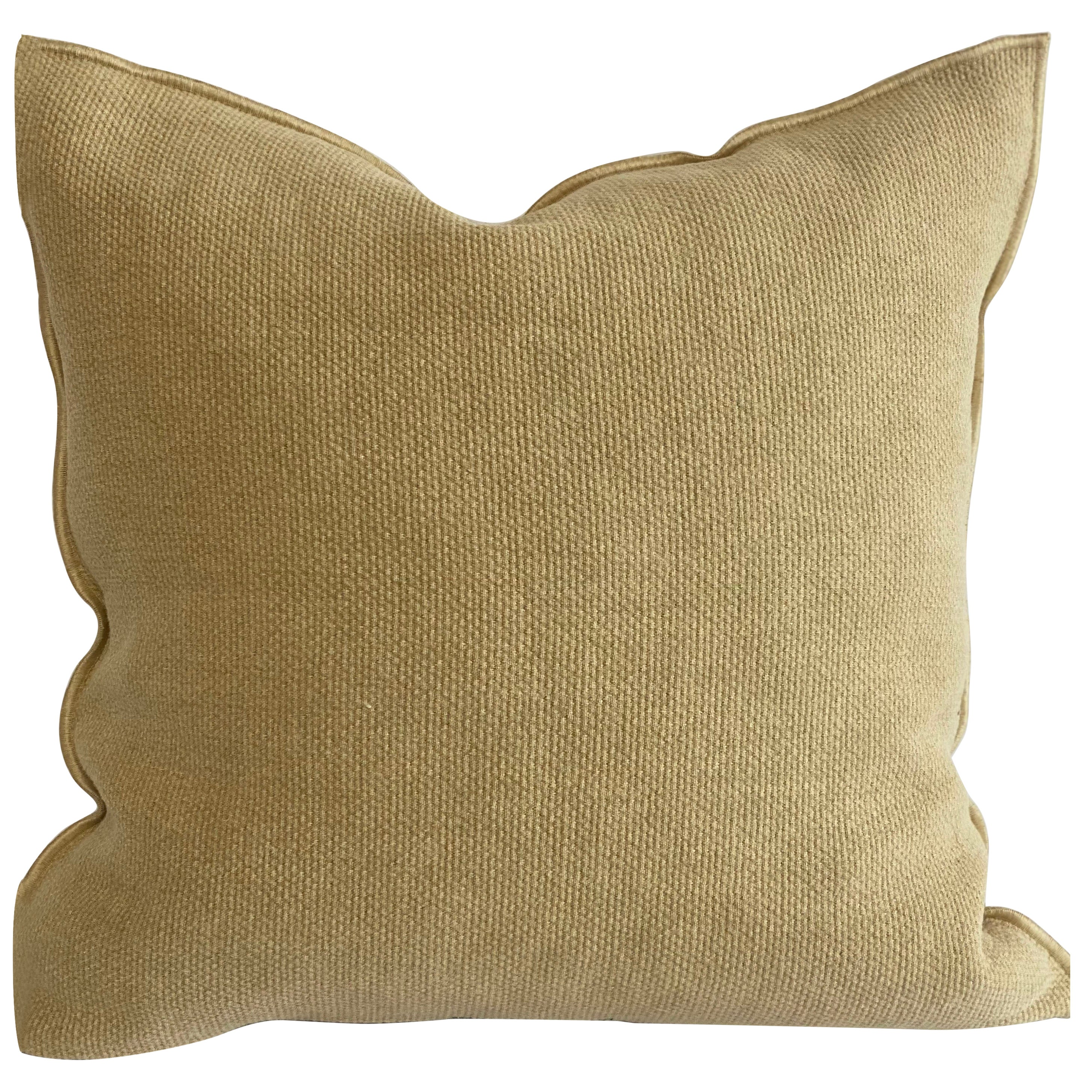 Gold European Linen Accent Pillow