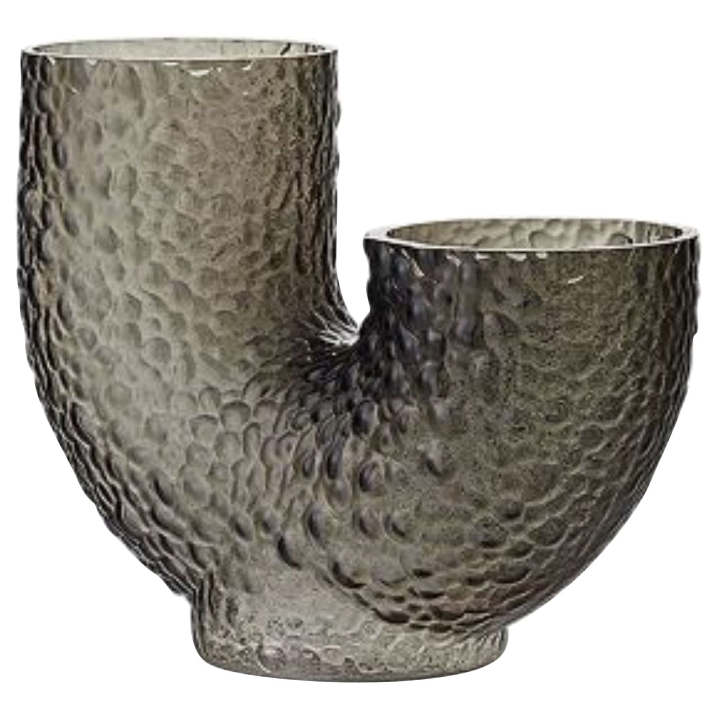 Glass Contemporary Vase