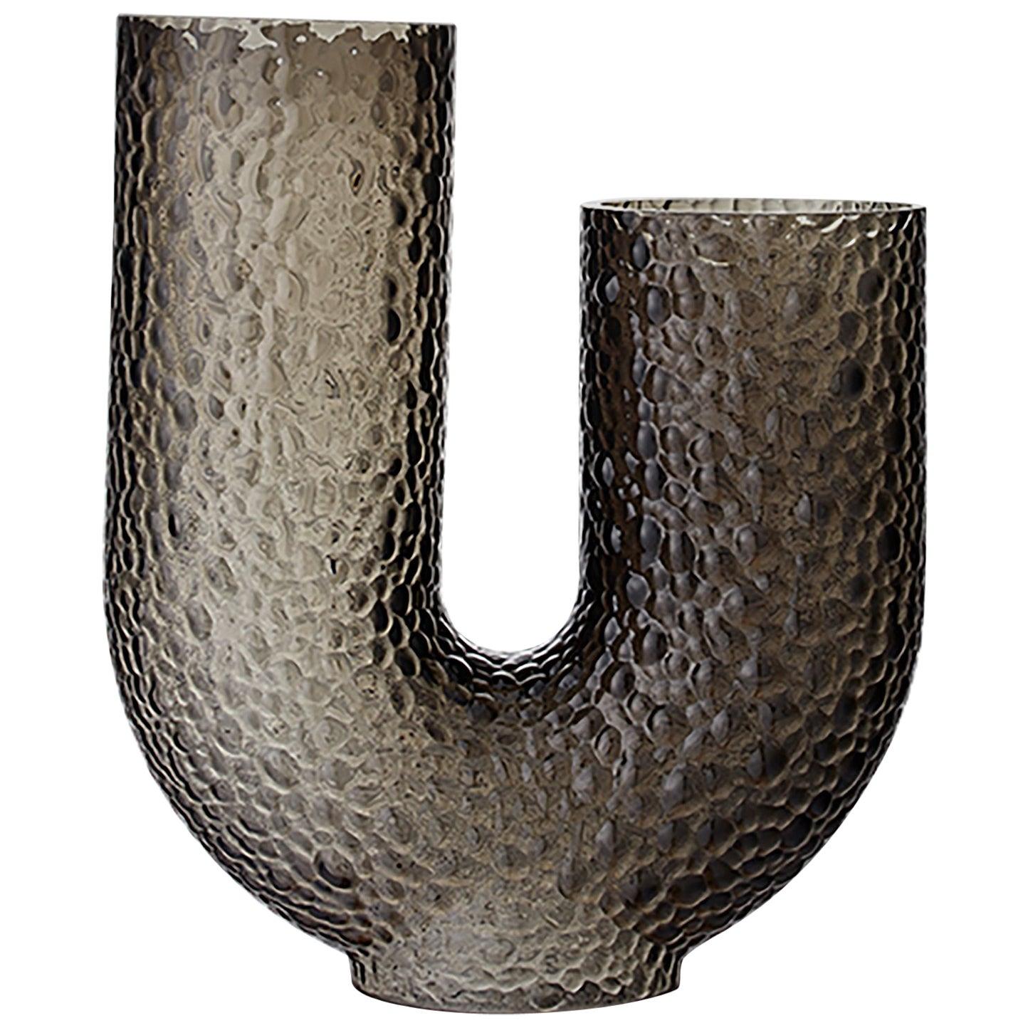 High Glass Contemporary Vase