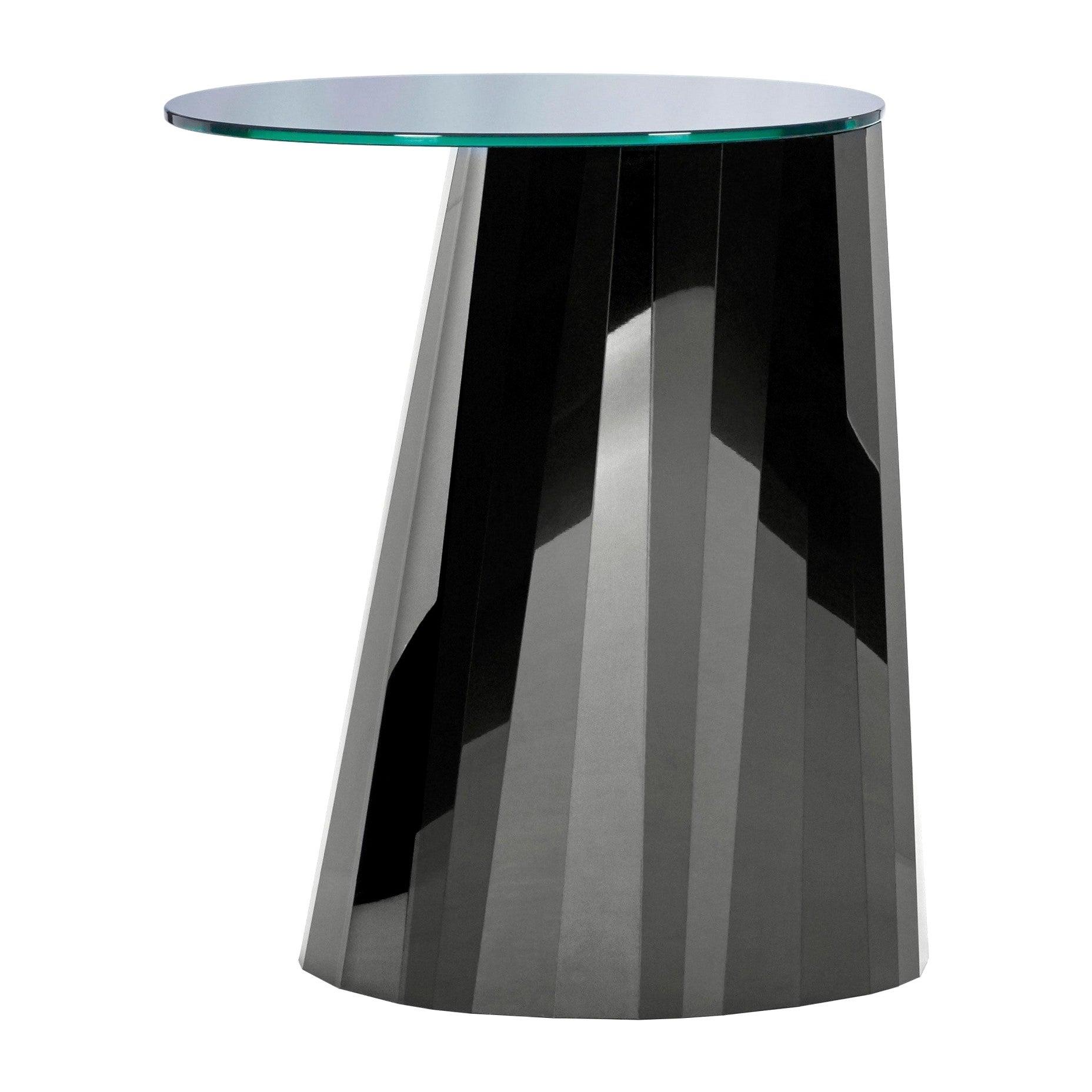 ClassiCon Pli High Black Side Table designed  by Victoria Wilmotte