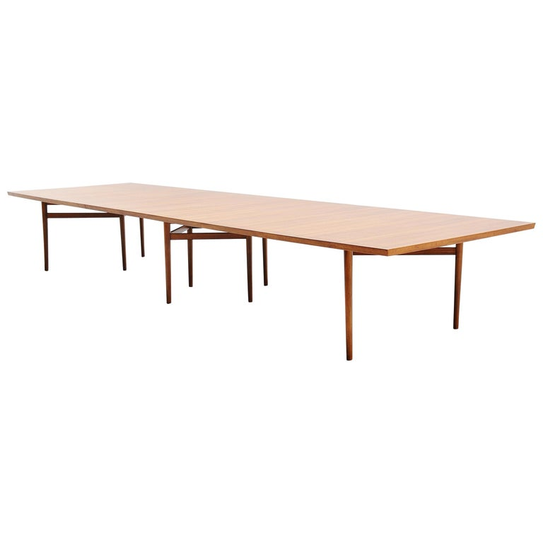 Arne Vodder Conference Table Sibast Mobler, Denmark, 1960 For Sale