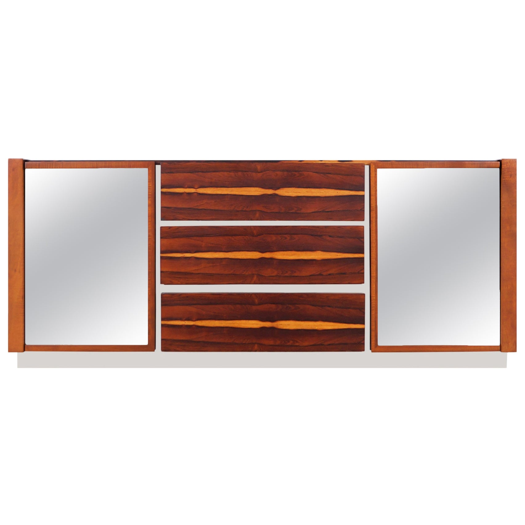 Mid-Century Modern Brazilian Rosewood Credenza