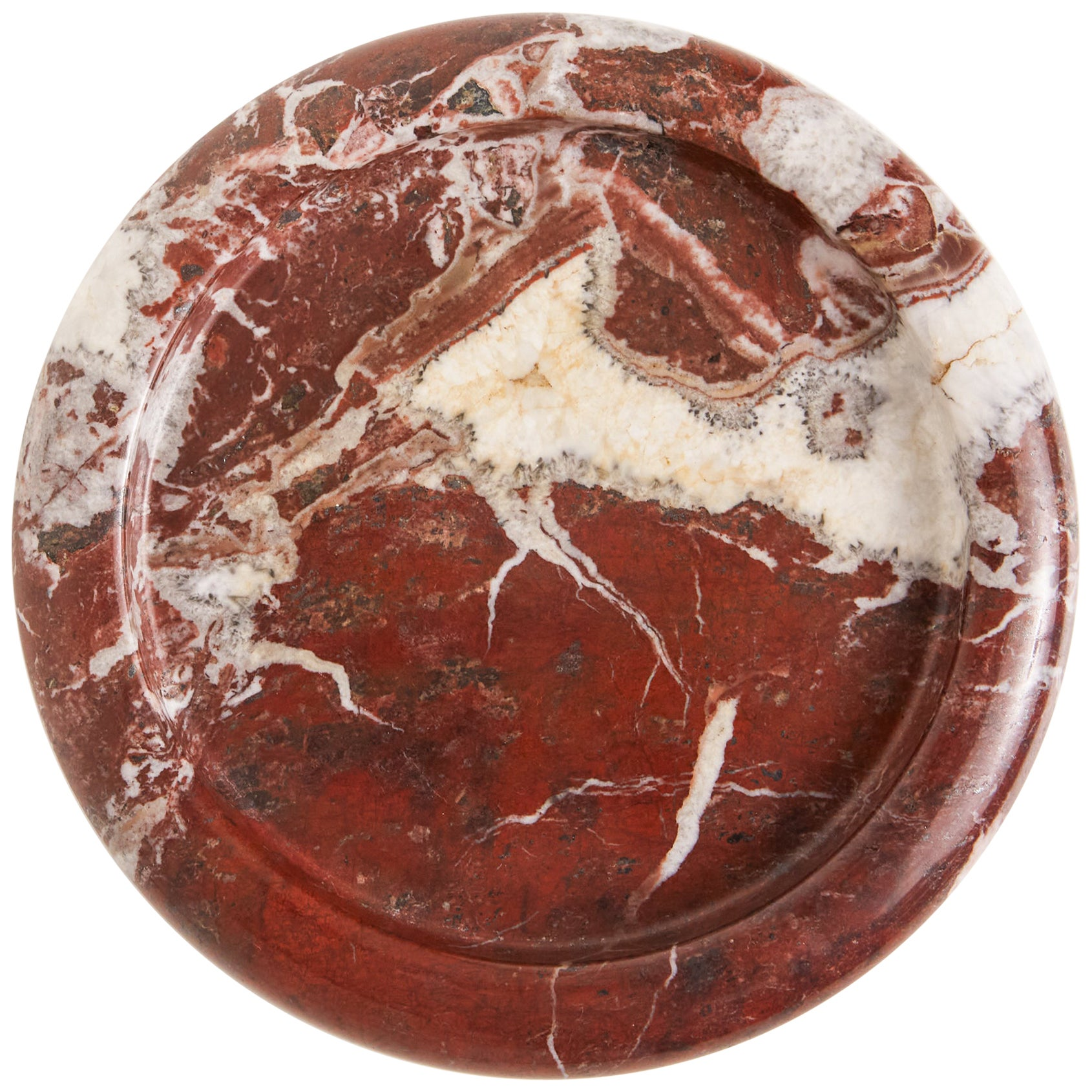 Fratelli Mannelli Red Marble Tray
