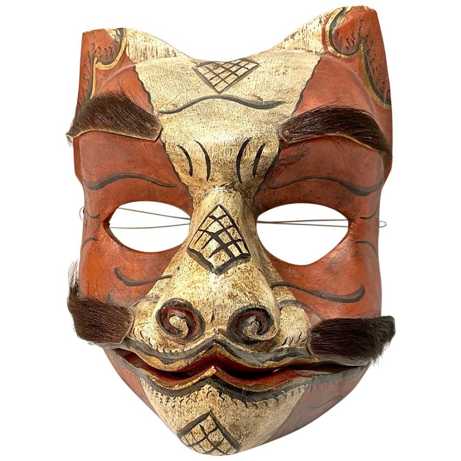 Japanese Fox Mask, Early 20th Century