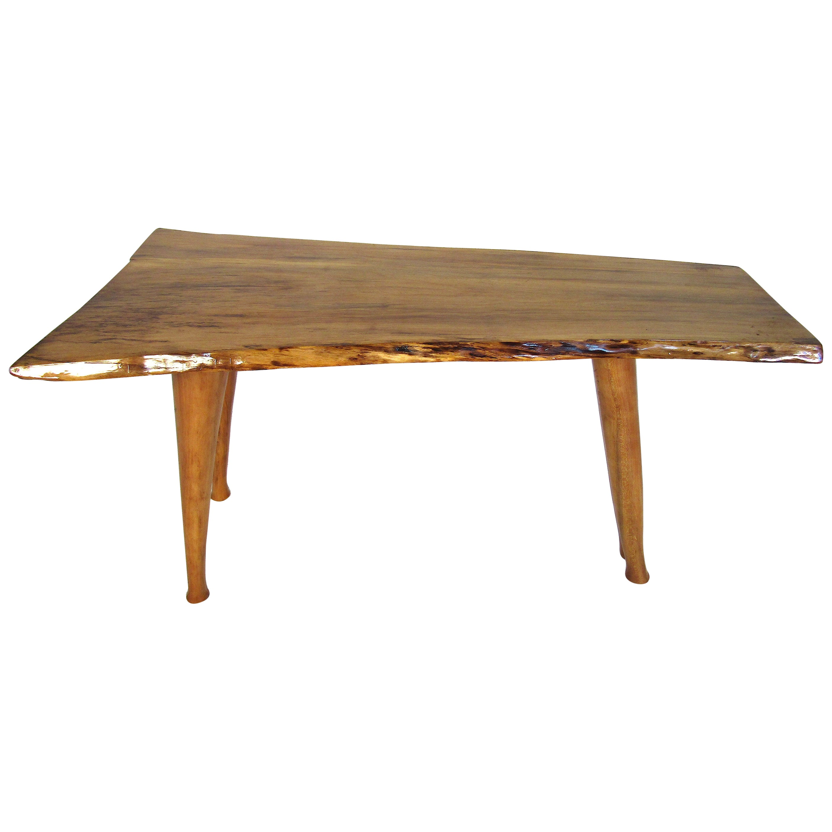 Small Live Edge Maple Coffee Table