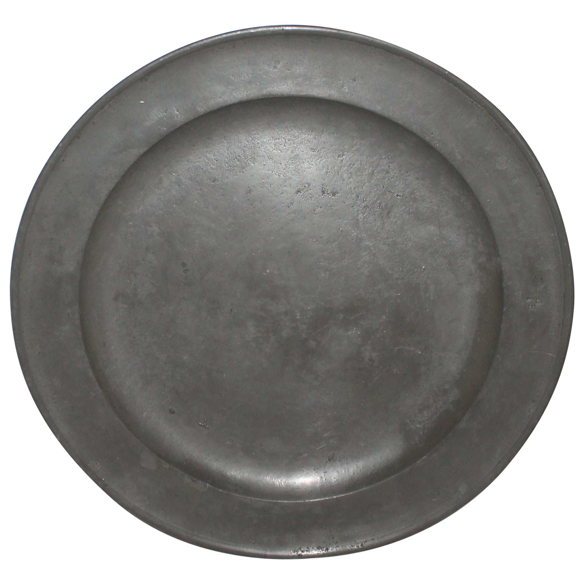 18th Century English Pewter Charger