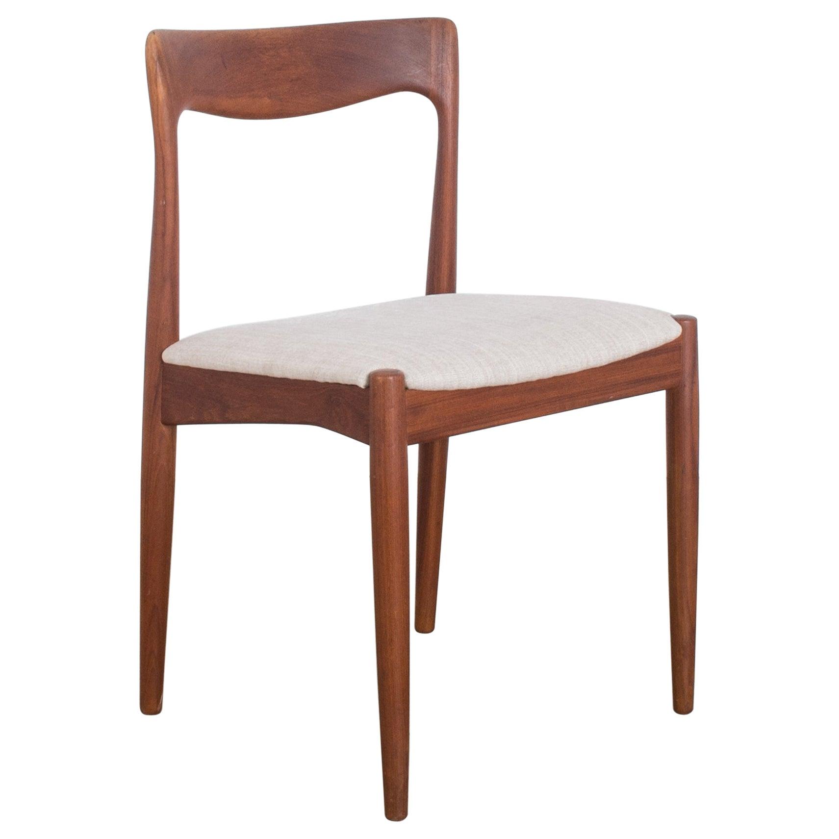 1960s Niels O. Møller Teak Chair