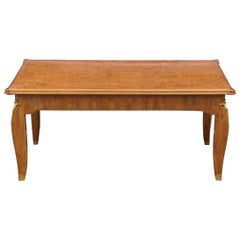 Rare Mahogany Coffee Table by Jules Leleu