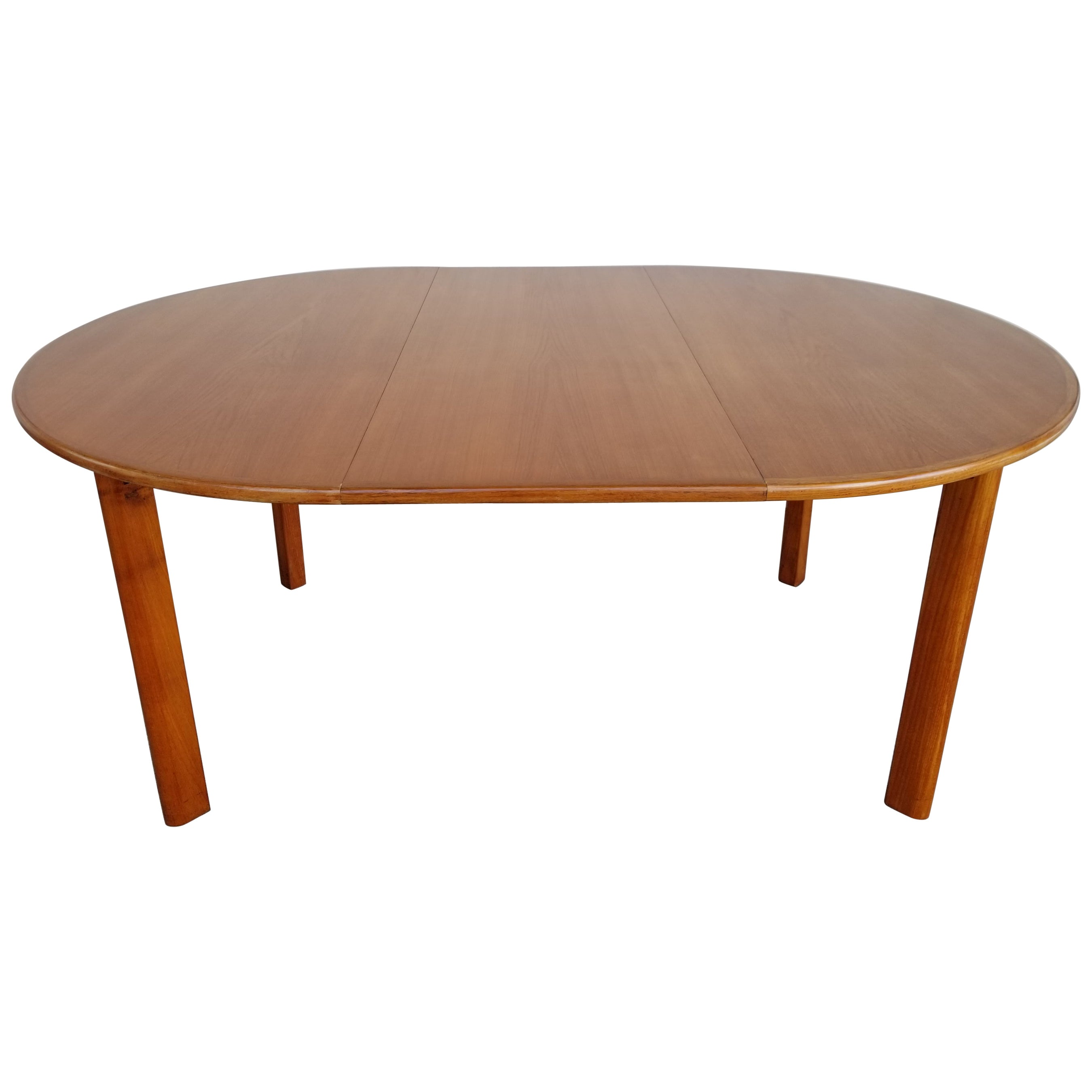 Teak Danish Modern Expanding Dining Table