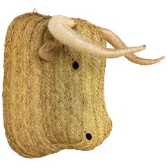 Bull Head Wall Sculpture, circa 2000, Spain