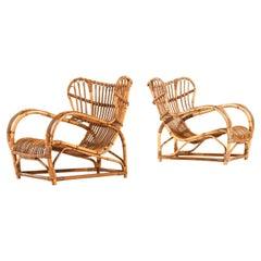 Viggo Boesen Easy Chairs Model 3440 Produced by R. Wengler in Denmark