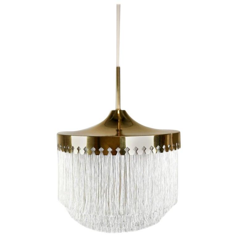 Midcentury Hans-Agne Jakobsson Ceiling Lamp Model T601, Sweden For Sale