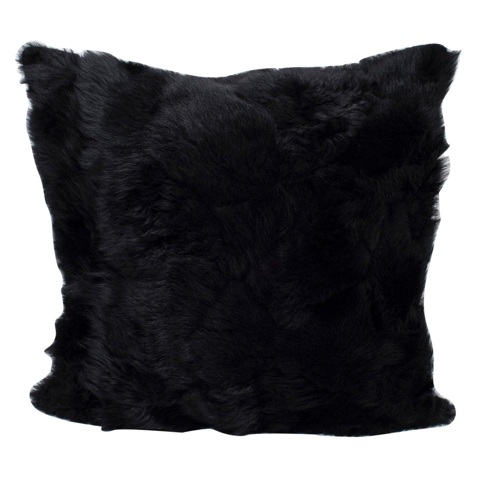 Real Fur Pillow, Authentic Toscana Sheep Fur