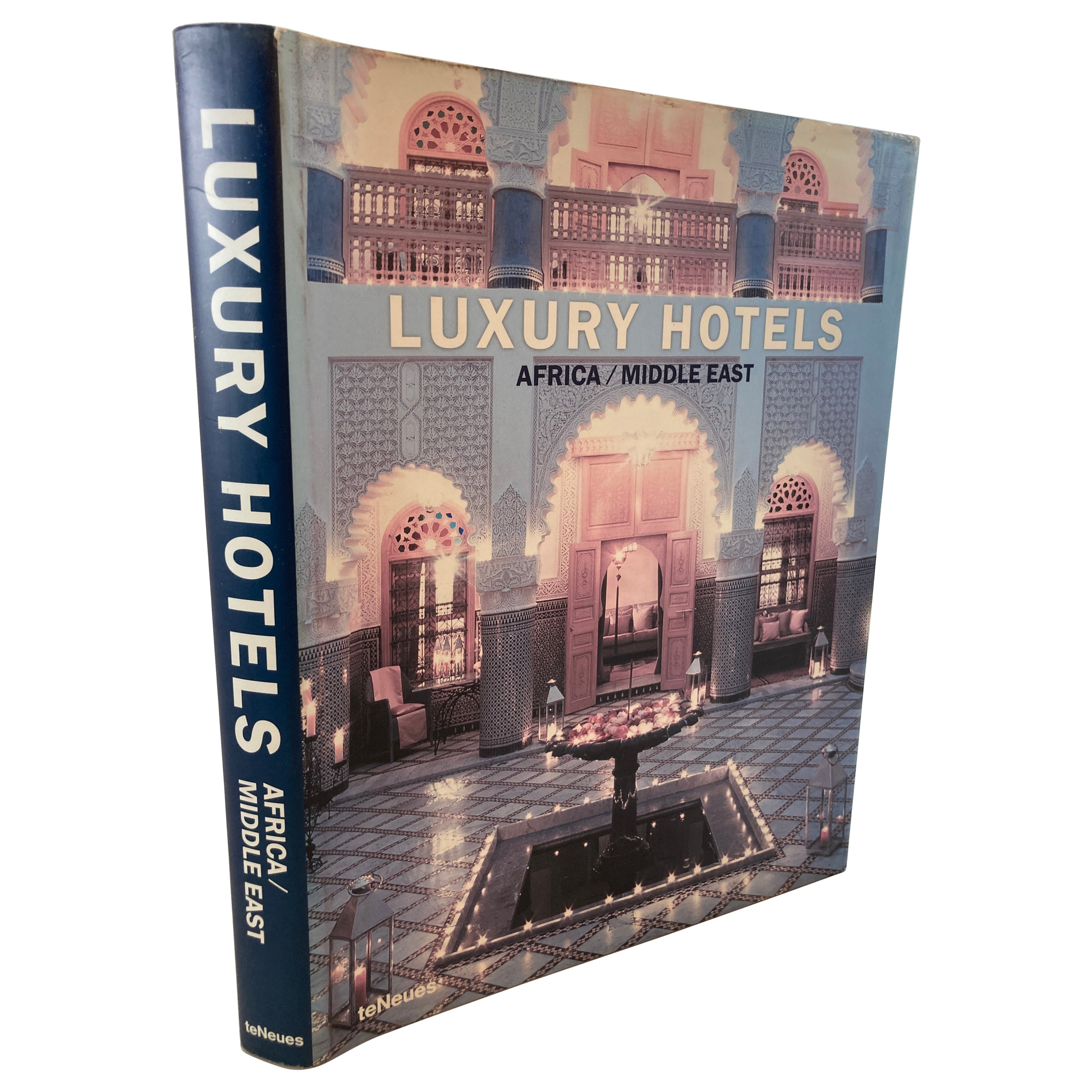 Luxury Hotels Africa Middle East Hardcover Coffee Table Book