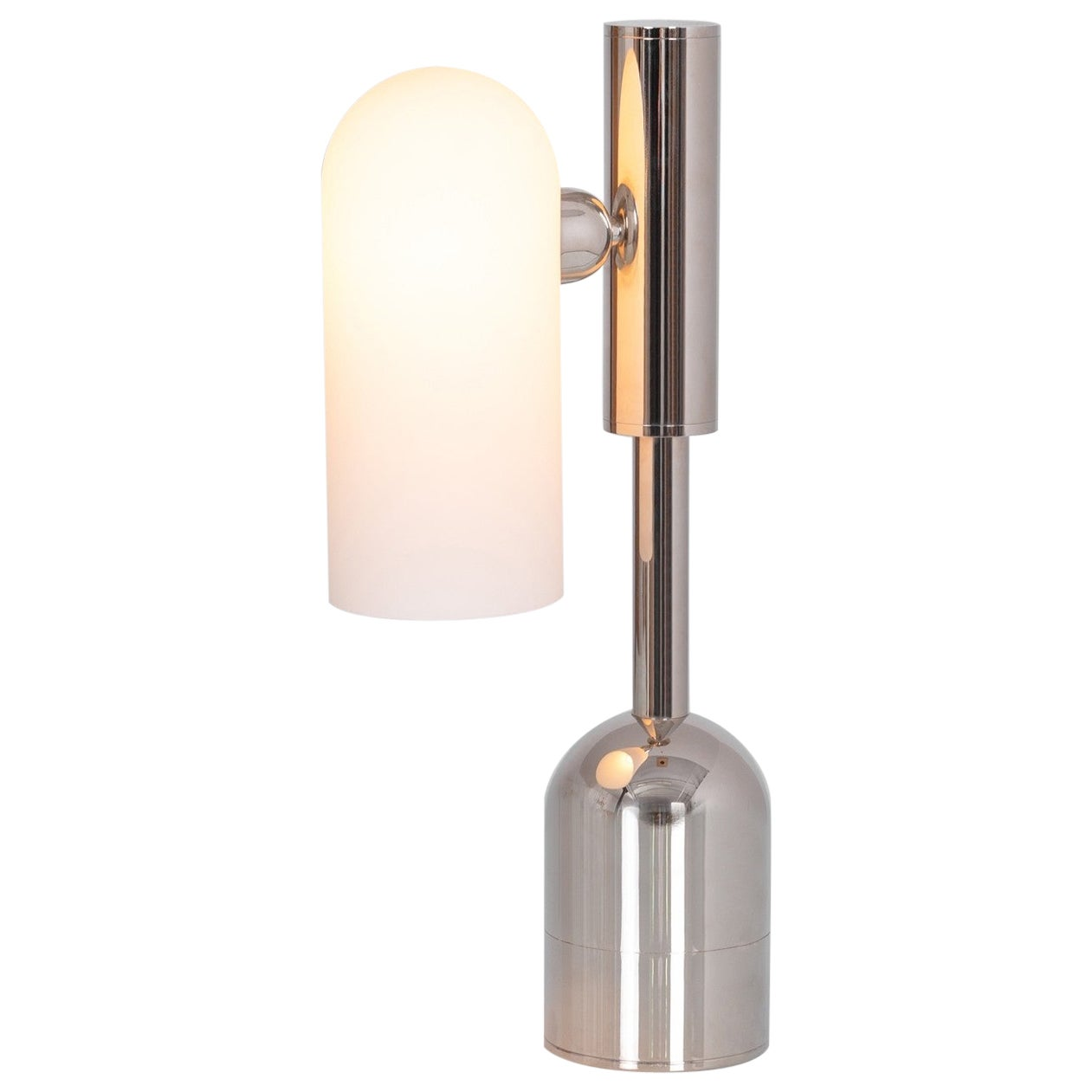 Polished Nickel Table Lamp by Schwung