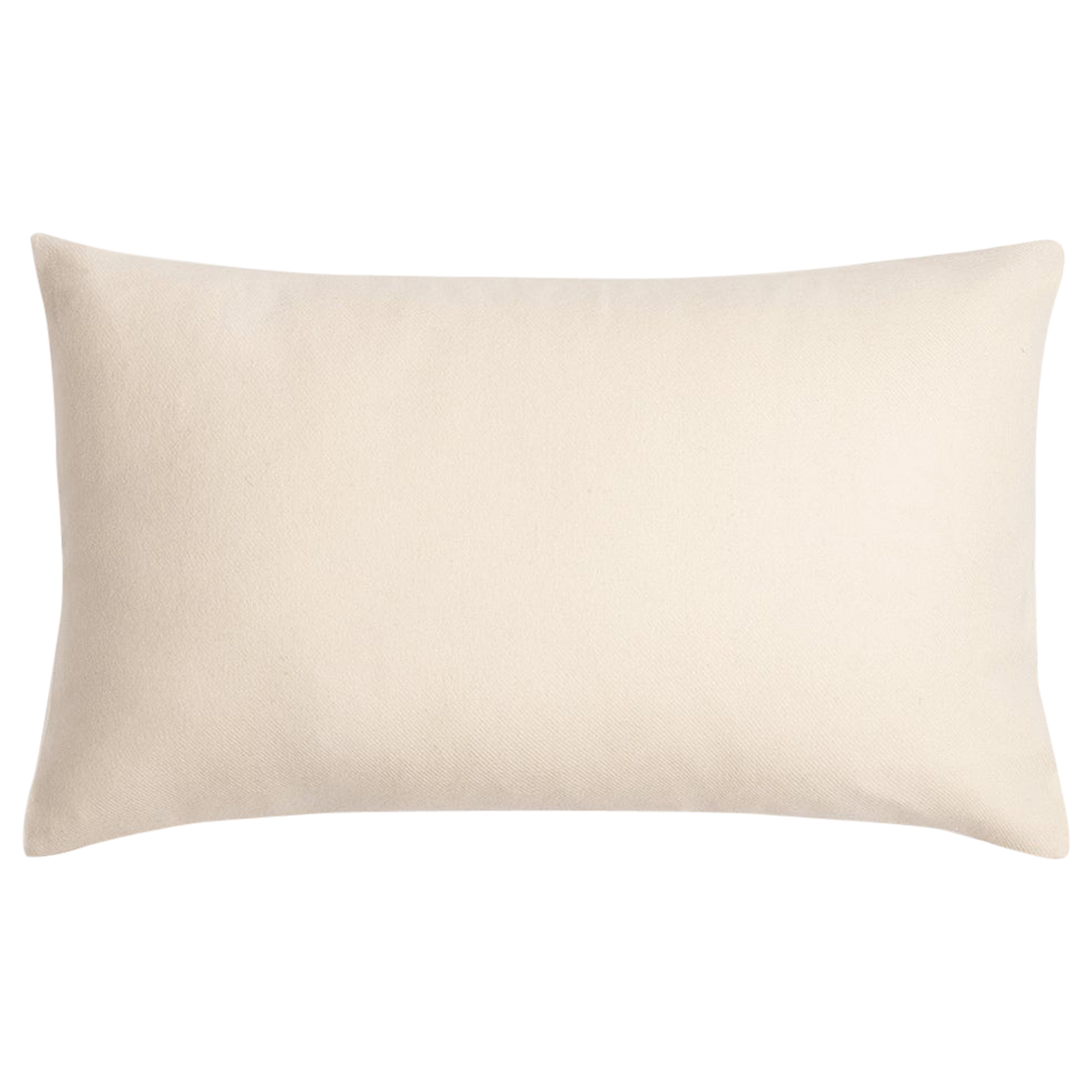 """Ben Soleimani Cashmere Pillow Cover - Ivory 13""""x21"""""""