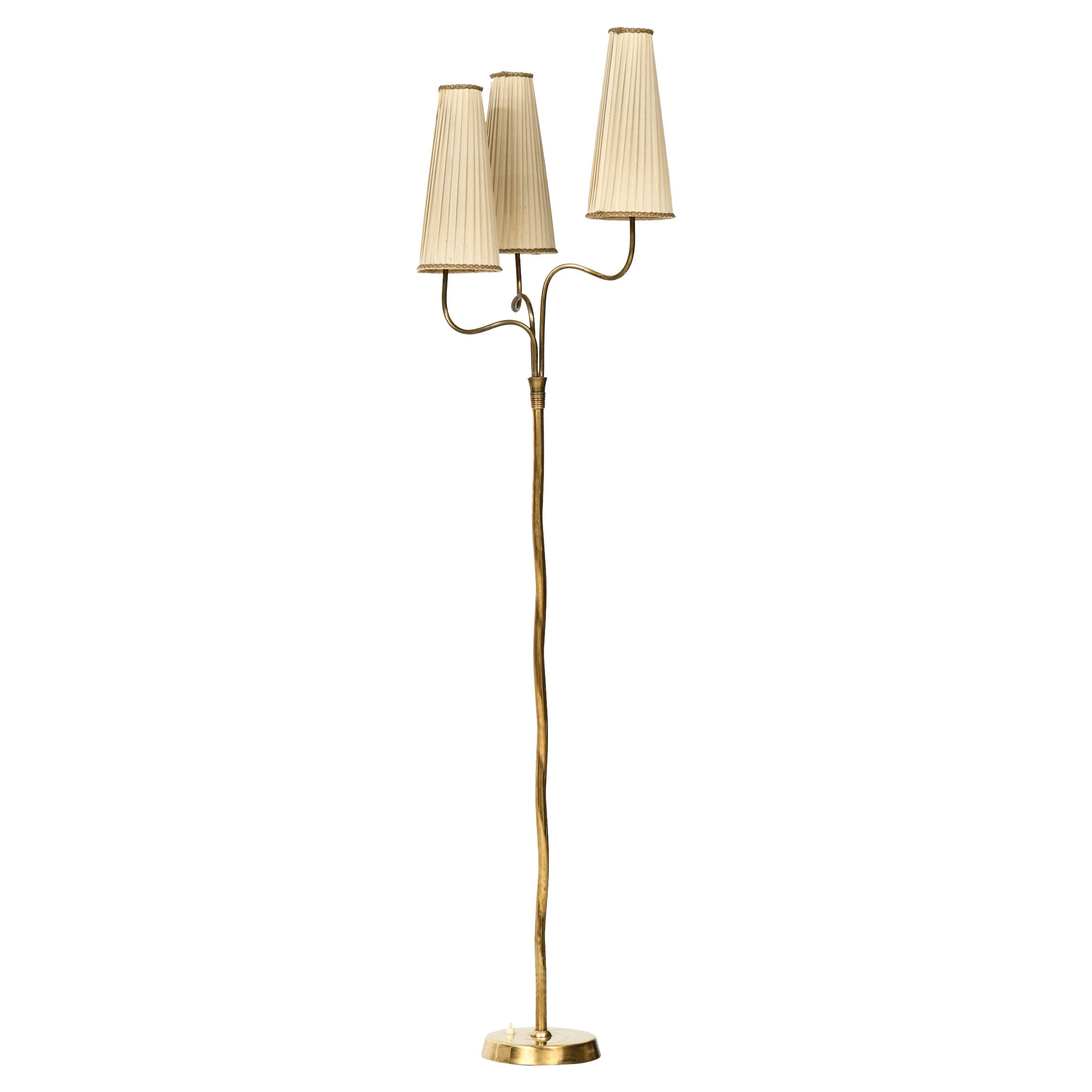 Floor Lamp Produced by Itsu in Finland