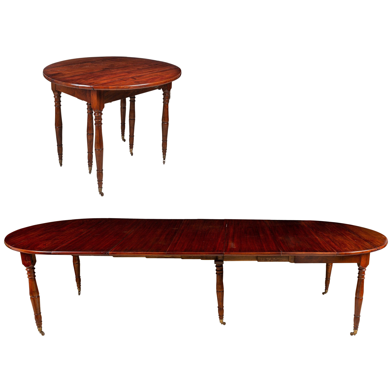 Empire Mahogany Extension Dining Table