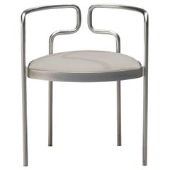 Henning Larsen for Fritz Hansen Armchair Model FH 9230 in Steel and Leather