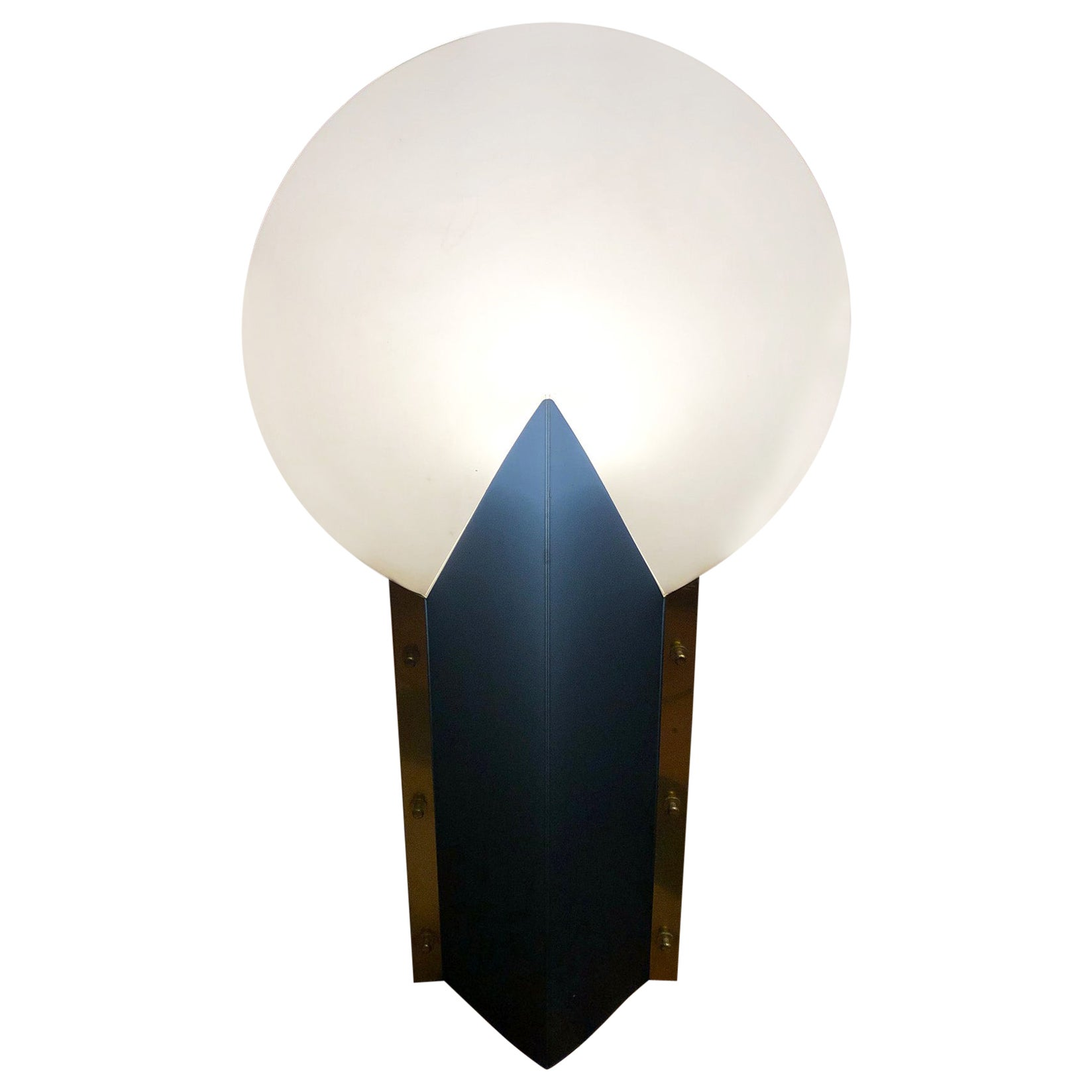 1980s Samuel Parker Table Lamp Reflex, Made in Italy
