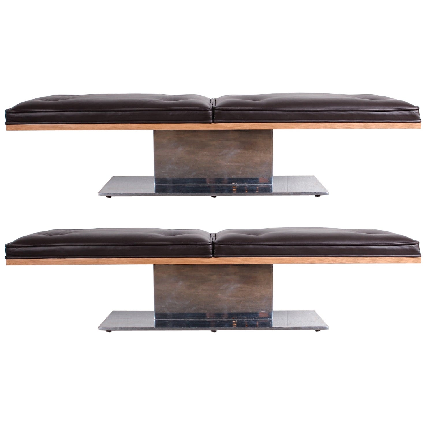 Pair of Benches by Warren Platner for Lehigh Leopold