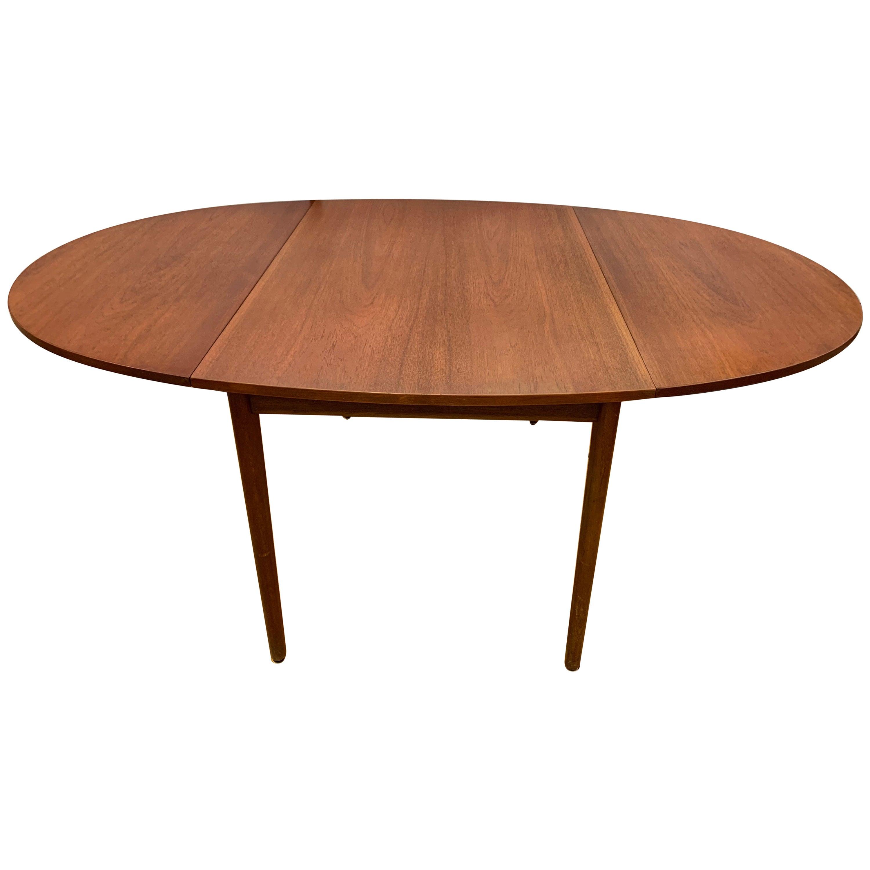 Signed Dining Table by Arne Vodder for Vamo 1958 Danish Mid-Century Modern