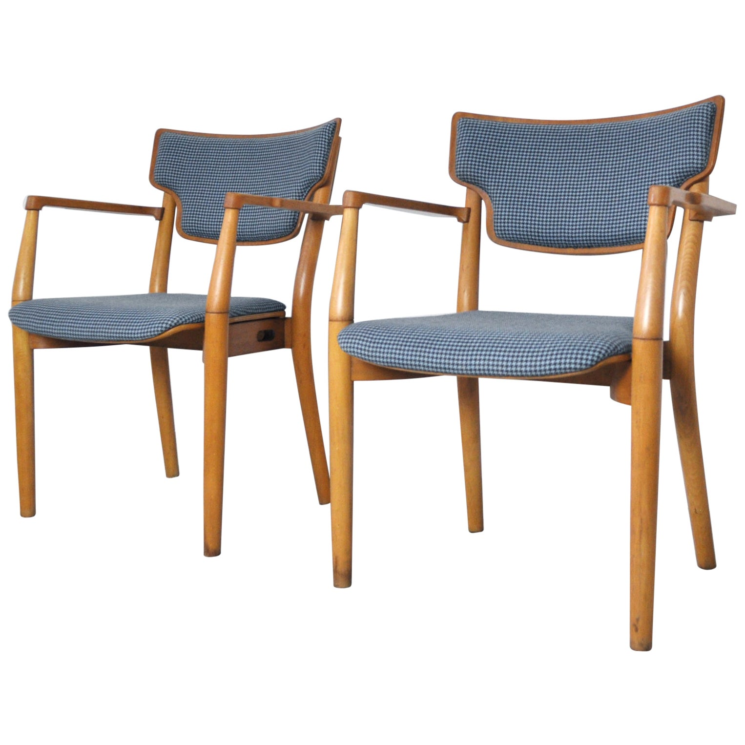 Portex Armchairs Designed by Peter Hvidt & Orla Mølgaard-Nielsen