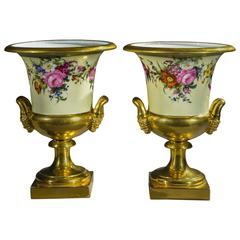 Pair of Medici-Form Vases