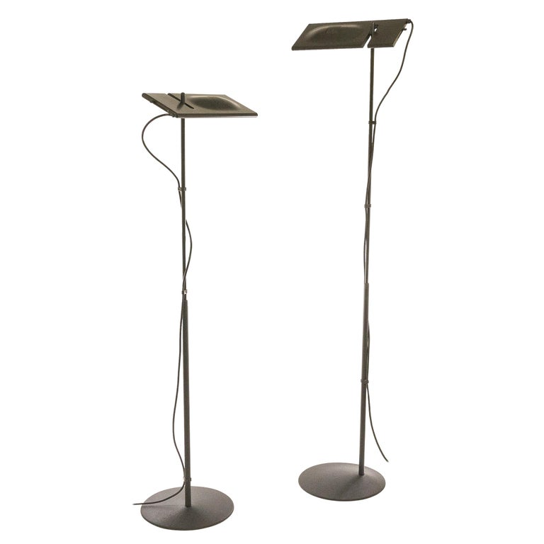Pair of Duna Floor Lamps by Mario Barbaglia & Marco Colombo for PAF Studio, 1980 For Sale